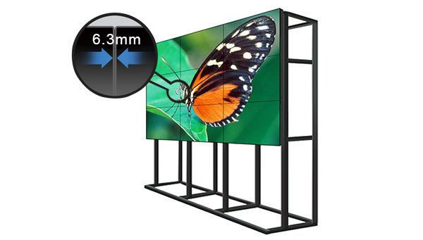 60-inch-6-3mm-bezel-full-hd-1366-768-500nits-LED-backlit-sharp-video-wall-for-rental-advertising-1