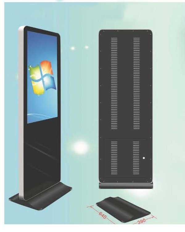 Floor stand all in one touch screen PC kiosk DDW-AD8201STPC